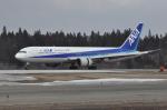 B737-781さんが、秋田空港で撮影した全日空 767-381の航空フォト(写真)