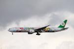 tupolevさんが、新千歳空港で撮影したエバー航空 777-35E/ERの航空フォト(写真)