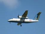 スカイマンタさんが、那覇空港で撮影した琉球エアーコミューター DHC-8-103Q Dash 8の航空フォト(写真)