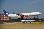 on-chanさんが、成田国際空港で撮影したスカンジナビア航空 A340-313Xの航空フォト(写真)