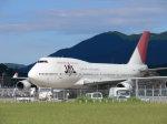 HRA airさんが、福岡空港で撮影した日本航空 747-446の航空フォト(写真)