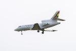 mameshibaさんが、成田国際空港で撮影したボリビア空軍 Falcon 50EXの航空フォト(写真)
