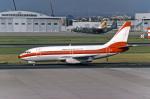 Gambardierさんが、名古屋飛行場で撮影した日本トランスオーシャン航空 737-2Q3/Advの航空フォト(写真)
