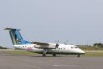 チャッピー・シミズさんが、与論空港で撮影した琉球エアーコミューター DHC-8-103Q Dash 8の航空フォト(写真)