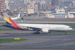 pringlesさんが、羽田空港で撮影したアシアナ航空 777-28E/ERの航空フォト(写真)