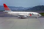 Gambardierさんが、岡山空港で撮影した日本トランスオーシャン航空 737-2Q3/Advの航空フォト(写真)