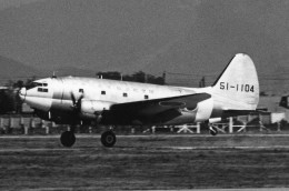 apphgさんが、名古屋飛行場で撮影した航空自衛隊 C-46D-10-CUの航空フォト(写真)