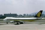 Gambardierさんが、伊丹空港で撮影したシンガポール航空 747-212Bの航空フォト(写真)