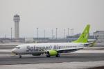 夢でゆなゆなさんが、新千歳空港で撮影したソラシド エア 737-86Nの航空フォト(写真)