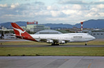 Gambardierさんが、名古屋飛行場で撮影したカンタス航空 747-338の航空フォト(写真)