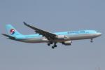 ATOMさんが、新千歳空港で撮影した大韓航空 A330-323Xの航空フォト(写真)