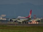 aquaさんが、小松空港で撮影したカーゴルクス 747-8R7F/SCDの航空フォト(写真)