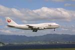 meijeanさんが、関西国際空港で撮影した日本航空 747-346の航空フォト(写真)