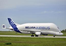 tomo@Germanyさんが、ハンブルク・フィンケンヴェルダー空港 で撮影したエアバス・トランスポート・インターナショナル A300B4-608STの航空フォト(写真)
