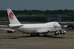 あおちゃんさんが、成田国際空港で撮影した日本アジア航空 747-246Bの航空フォト(写真)