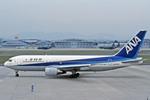 Gambardierさんが、名古屋飛行場で撮影した全日空 767-281の航空フォト(写真)