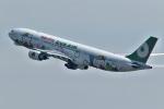 comさんが、羽田空港で撮影したエバー航空 A330-302Xの航空フォト(写真)