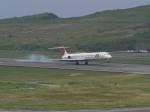 きつねさんが、南紀白浜空港で撮影した日本航空 MD-81 (DC-9-81)の航空フォト(写真)