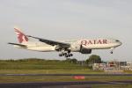 多楽さんが、成田国際空港で撮影したカタール航空 777-2DZ/LRの航空フォト(写真)
