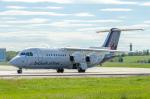quicksilverさんが、トゥールーズ・ブラニャック空港で撮影したブリュッセル航空 Avro 146-RJ100の航空フォト(写真)