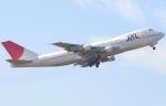 なぁちゃんさんが、成田国際空港で撮影した日本航空 747-246Bの航空フォト(写真)