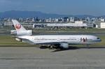 Gambardierさんが、福岡空港で撮影した日本航空 DC-10-40Dの航空フォト(写真)