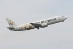 korosukeさんが、成田国際空港で撮影したエア・インチョン 737-4Y0/SFの航空フォト(写真)