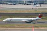 White_Maneさんが、羽田空港で撮影した日本航空 MD-90-30の航空フォト(写真)
