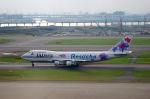 リョウさんが、羽田空港で撮影したJALウェイズ 747-246Bの航空フォト(写真)