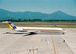 parurunさんが、鹿児島空港で撮影した日本エアシステム MD-81 (DC-9-81)の航空フォト(写真)
