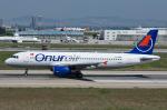 Tomo-Papaさんが、アタテュルク国際空港で撮影したオヌール・エア A320-232の航空フォト(写真)