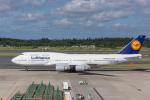 Y-Kenzoさんが、成田国際空港で撮影したルフトハンザドイツ航空 747-430の航空フォト(写真)