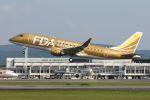 やまちゃんさんが、熊本空港で撮影したフジドリームエアラインズ ERJ-170-200 (ERJ-175STD)の航空フォト(写真)