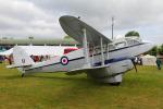 りんたろうさんが、コスフォード空軍基地で撮影したイギリス空軍 DH.89A Dragon Rapideの航空フォト(写真)
