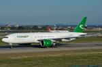 Tomo-Papaさんが、アタテュルク国際空港で撮影したトルクメニスタン航空 777-22K/LRの航空フォト(写真)