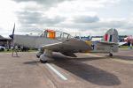りんたろうさんが、コスフォード空軍基地で撮影したイギリス空軍 P.40 Prentice T.1の航空フォト(写真)