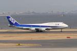 SnowCrystalさんが、羽田空港で撮影した全日空 747-481(D)の航空フォト(写真)