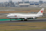senyoさんが、羽田空港で撮影した日本航空 747-146B/SR/SUDの航空フォト(写真)