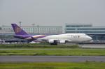 ktaroさんが、羽田空港で撮影したタイ国際航空 747-4D7の航空フォト(写真)