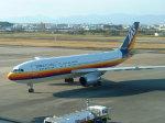 ピーノックさんが、宮崎空港で撮影した日本エアシステム A300B4-2Cの航空フォト(写真)