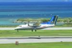 kamerajiijiさんが、那覇空港で撮影した琉球エアーコミューター DHC-8-103Q Dash 8の航空フォト(写真)