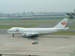 ピーノックさんが、羽田空港で撮影した日本航空 747-246Bの航空フォト(写真)