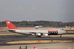 はれいろさんが、成田国際空港で撮影したノースウエスト航空 747-251F/SCDの航空フォト(写真)