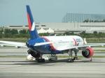 スカイマンタさんが、スワンナプーム国際空港で撮影したアズール・エア 757-2Q8の航空フォト(写真)