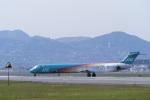 senyoさんが、伊丹空港で撮影した日本エアシステム MD-90-30の航空フォト(写真)