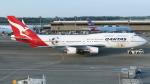 誘喜さんが、成田国際空港で撮影したカンタス航空 747-438/ERの航空フォト(写真)