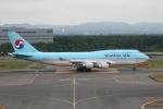 ATOMさんが、新千歳空港で撮影した大韓航空 747-4B5の航空フォト(写真)