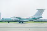 pinamaさんが、関西国際空港で撮影したアルジェリア空軍 Il-76TDの航空フォト(写真)