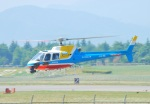おぶりがーどさんが、松本空港で撮影した中日本航空 AS350B2 Ecureuilの航空フォト(写真)