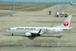 かみきりむしさんが、中部国際空港で撮影した日本航空 737-846の航空フォト(写真)